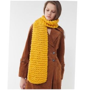 Urban Outfitters Chunky Knit Scarf